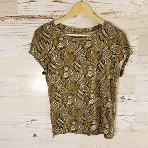American Eagle Outfitters vintage print tee